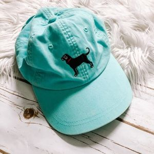 The Black Dog | ladies teal ball cap